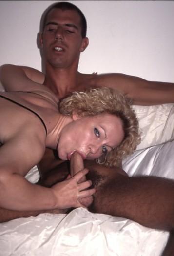 Cougar Perpignan pipe sur un jeune homme